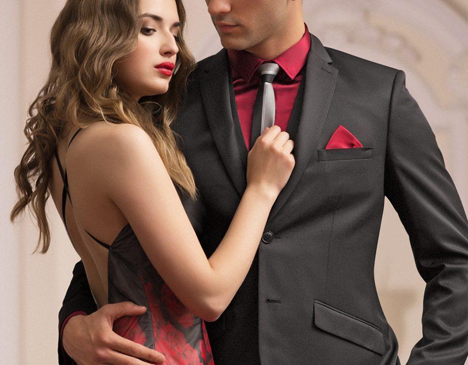 Příklad oblečení na ples