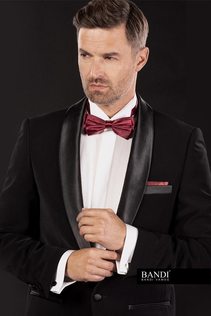 Příklad outfitu pro dress code Black Tie