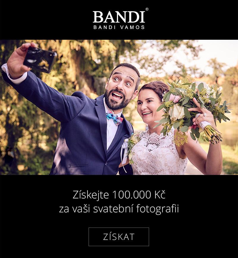 Pošlete vaši svatební fotografii a získejte 100.000 Kč